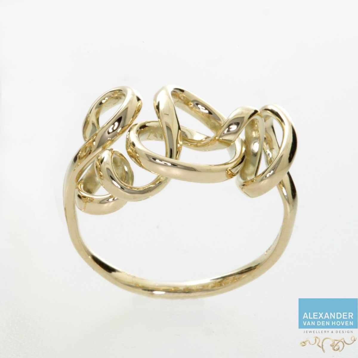 Gouden Vivianna ring