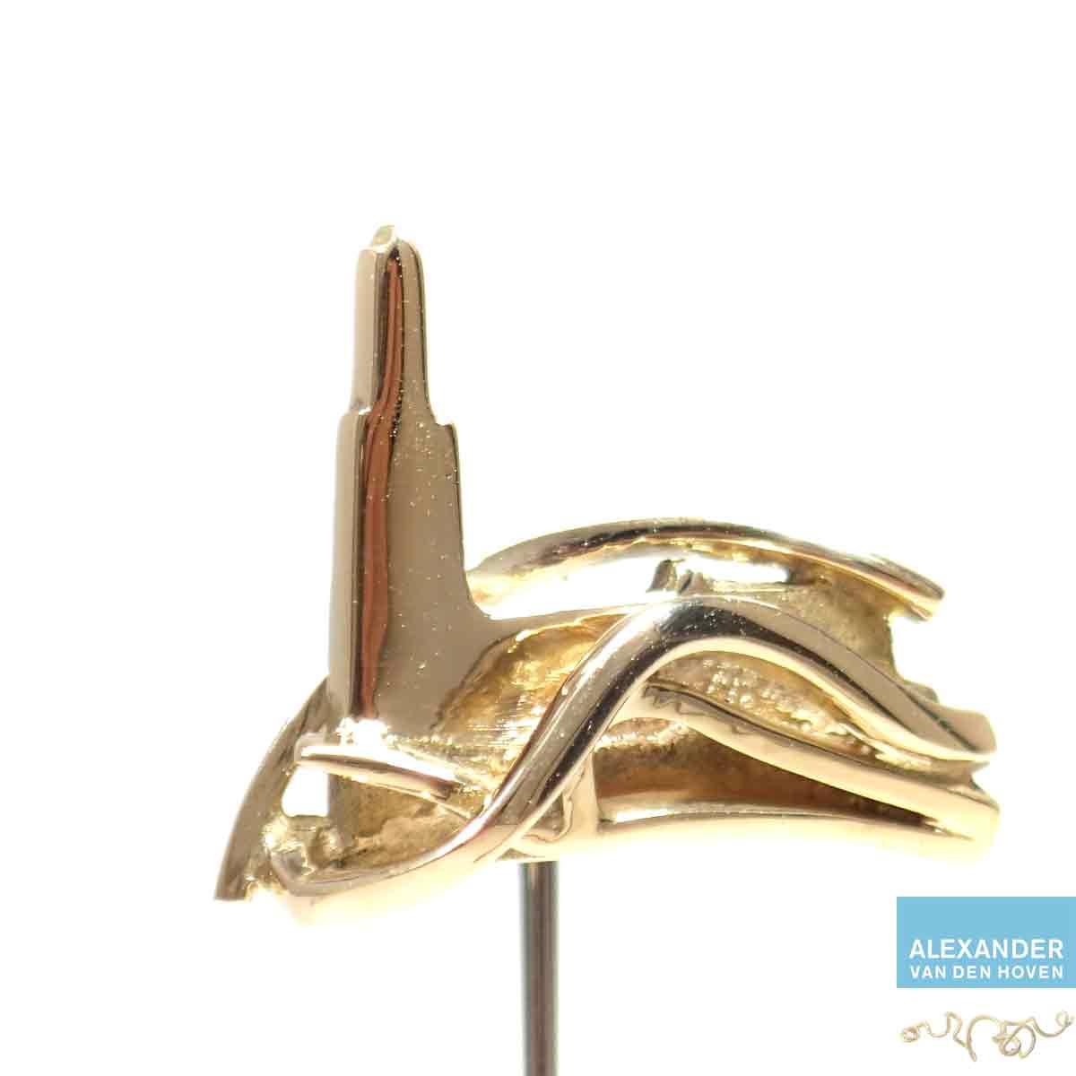 Eusebiuskerk-Arnhem-speldje-goud-pin