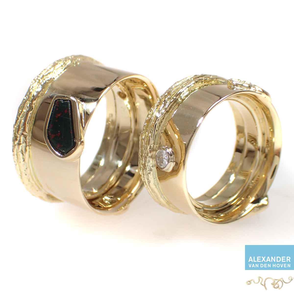 Gouden-ring-herinnering-asring