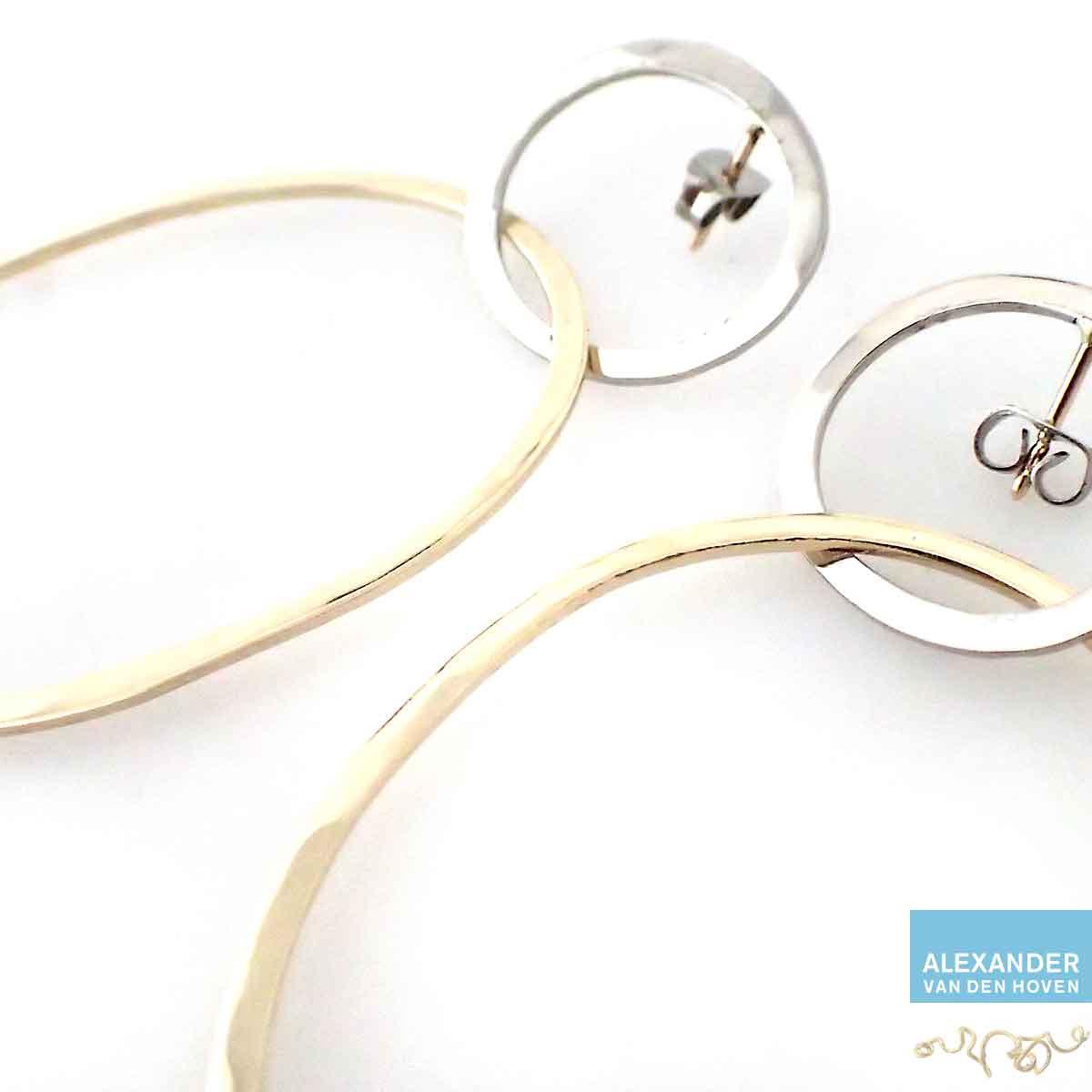 Oorknoppen-oud-goud-Alexander-oorsieraad