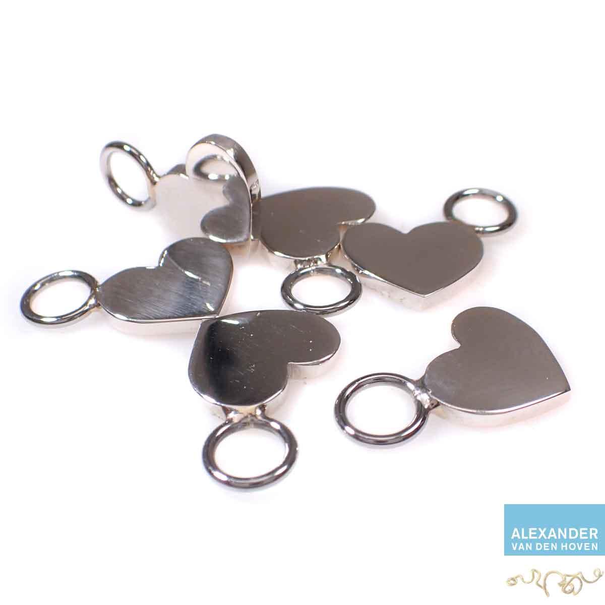 Zilveren-hartje-hanger