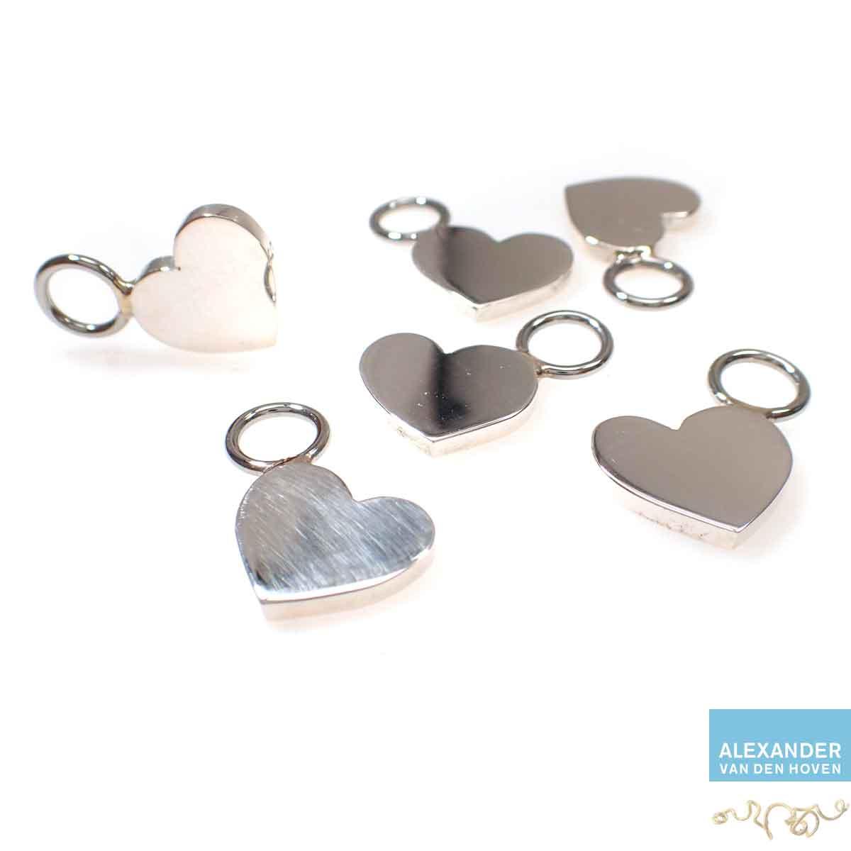 Zilveren-hartjes-hanger-Goudsmid