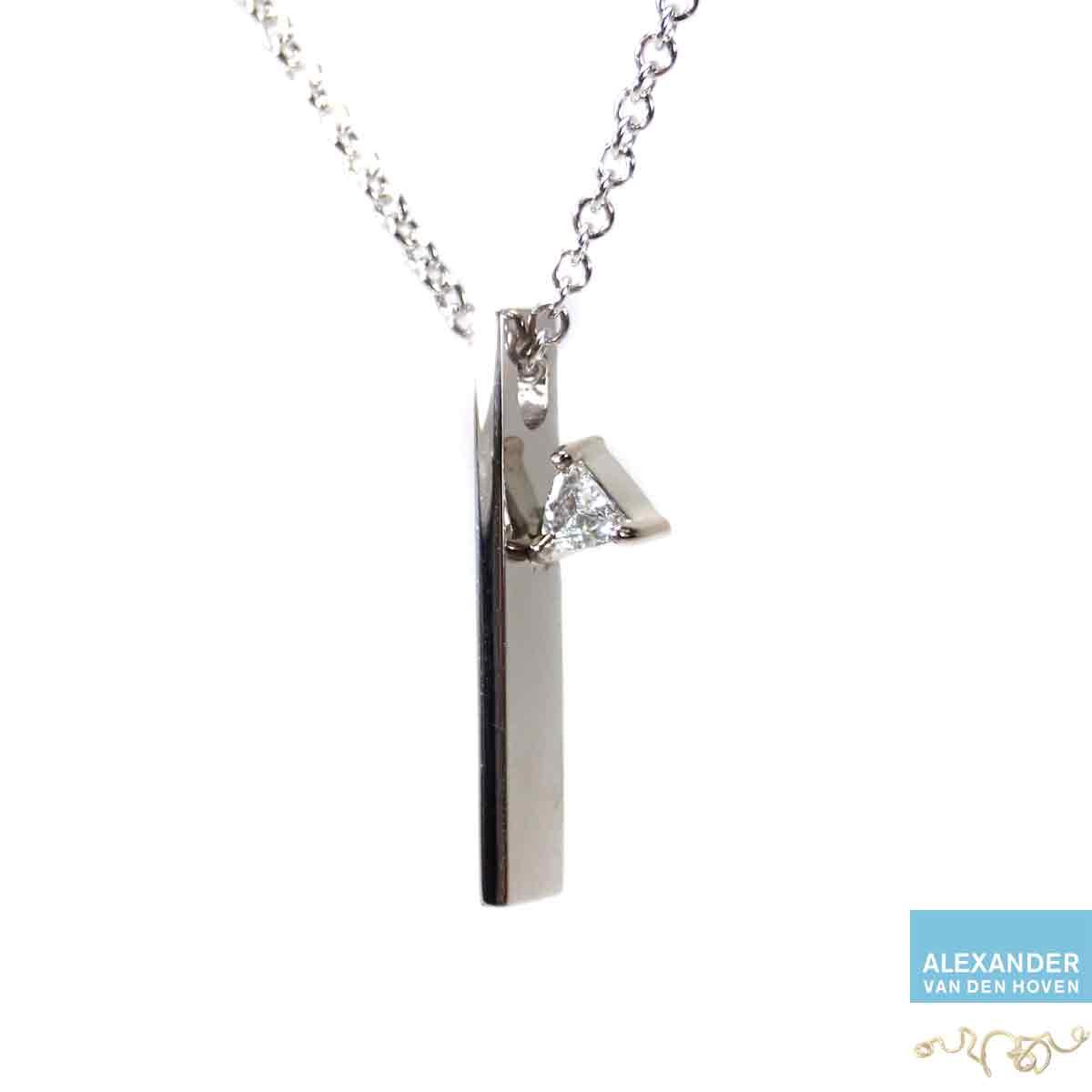 witgouden-hanger-Triljant-Diamant