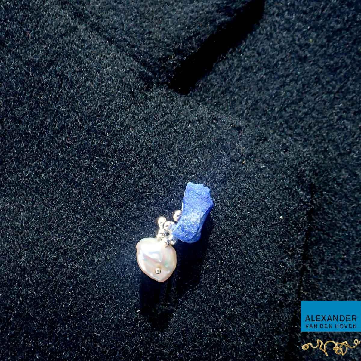 Pin-goud-Lapis-Lazuli-Parel-speldje-1