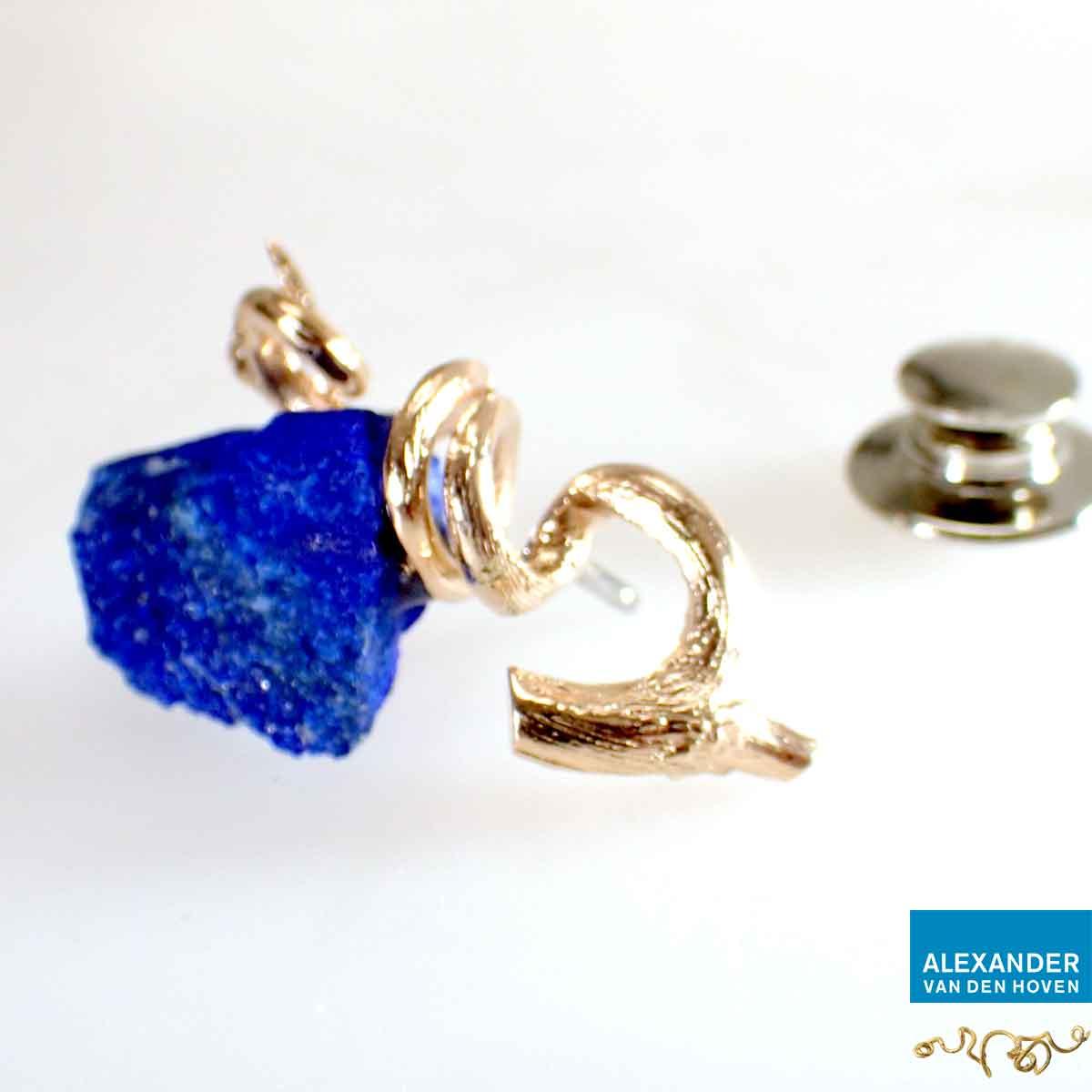 Pin-roodgoud-Lapis-Lazuli-takje