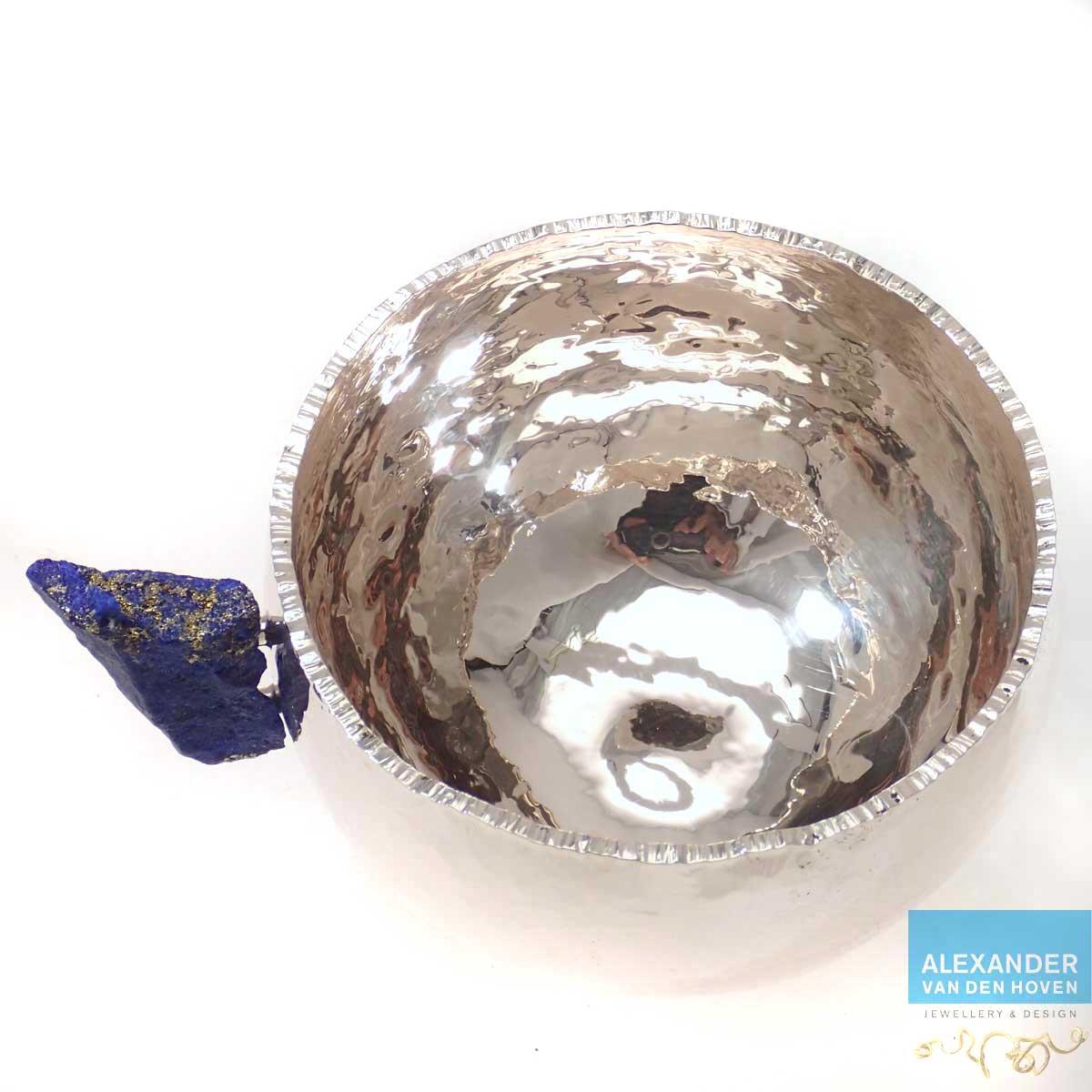 Zilveren-bakje-Lapis-Lazuli-rond-2