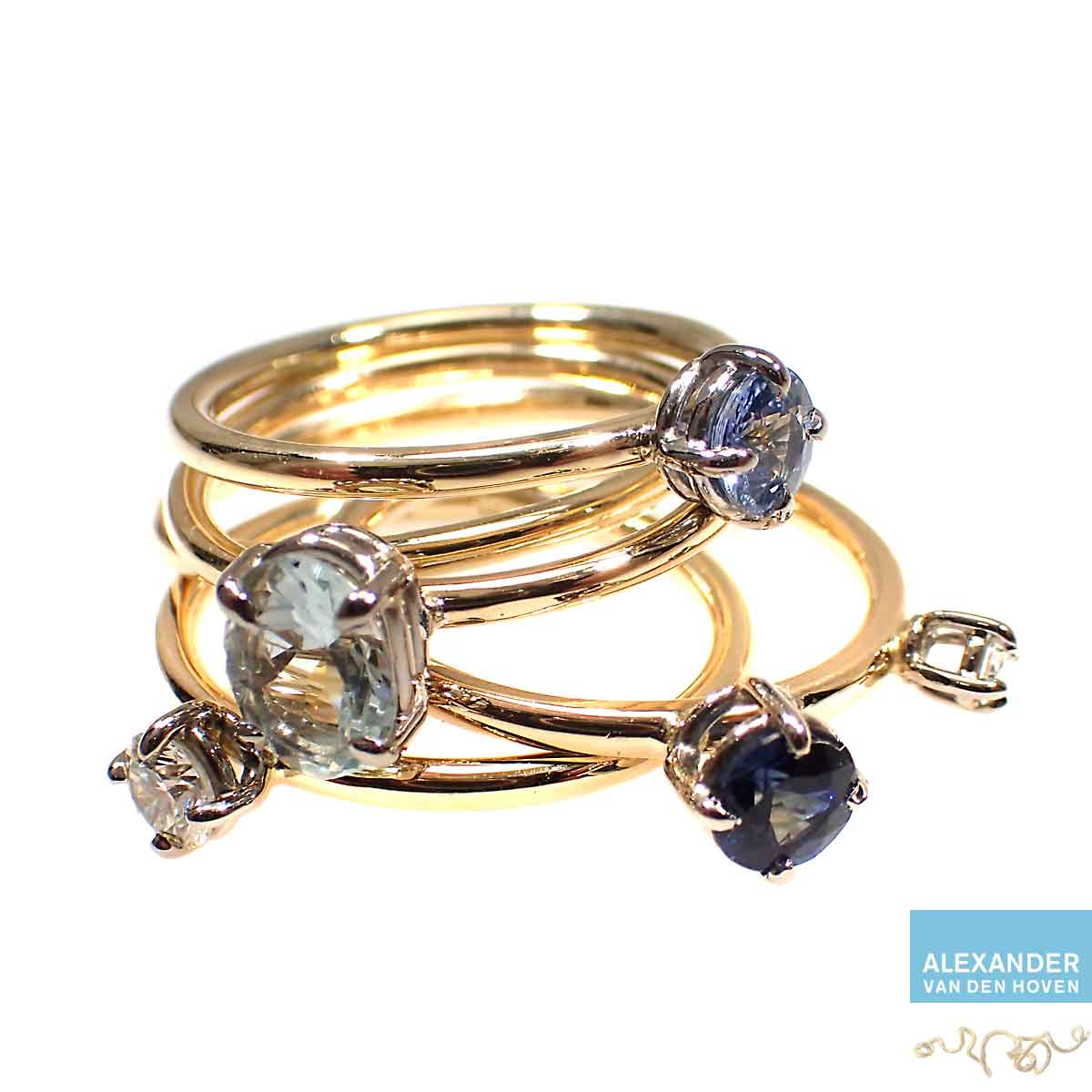 Gouden-ringen-met-Diamant-Blauwe-Saffier