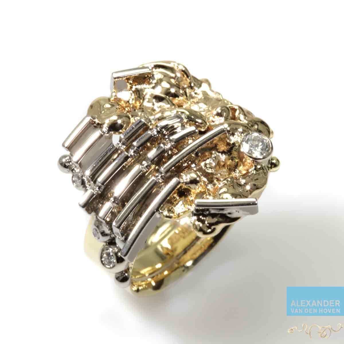 Geelgouden-ring-vingerafdruk-herinnering