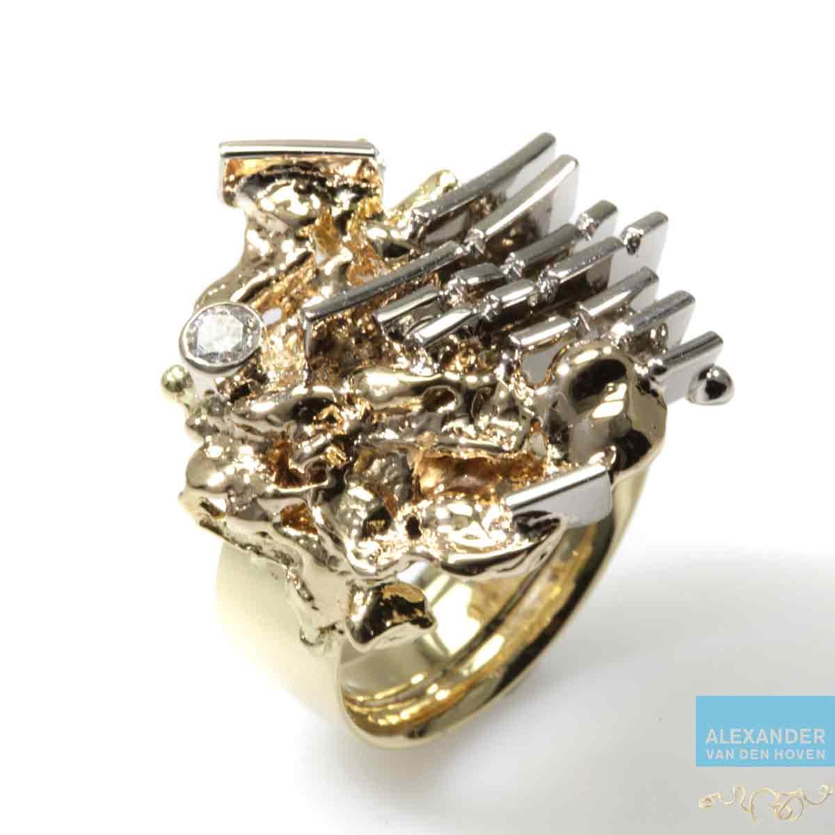 Gouden-sieraad-vingerafdruk